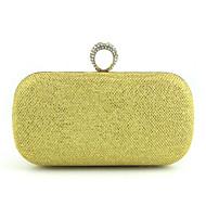 バッグ ポリエステル アクリル 金属 コットン メタルチェーン タッセル のために ブルー ゴールド ブラック シルバー