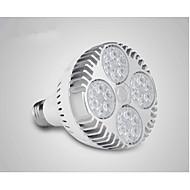 billige Spotlys med LED-36 W 400-450 lm LED PAR-lamper 24 LED perler Høyeffekts-LED Hvit 220-240 V / 1 stk.