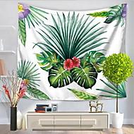 billige Veggdekor-Blomster Tema Veggdekor 100% Polyester Mønstret Natur-inspireret Veggkunst, Veggtepper Dekorasjon