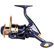 Mulinete de Pescuit Spinning Reels 5.5:1 Omjer prijenosa+8.0 Kugličnim ležajevima zamjenjivi Morski ribolov Mamac Casting Vrtložno