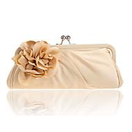 baratos Clutches & Bolsas de Noite-Mulheres Bolsas Poliéster Bolsa de Ombro Flor Cinzento Prateado / Vinho / Ametista
