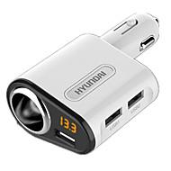 billiga Billaddare för mobilen-Snabbladdning Andra 3 USB-portar Endast laddare DC 5V/3,1A