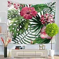 tanie Dekoracje ścienne-Kwiatowy Motyw Dekoracja ścienna 100% Polyester Pasterski Wall Art, Ścienne Gobeliny Dekoracja