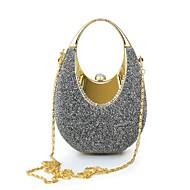 baratos Clutches & Bolsas de Noite-Mulheres Bolsas Poliéster / Camurça / Cetim Bolsa de Mão para Festa / Eventos Cinzento