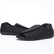 メンズ 靴 チュール 春 コンフォートシューズ スニーカー のために 日常 ブラック