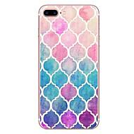 billiga Mobil cases & Skärmskydd-fodral Till Apple iPhone X iPhone 8 Mönster Skal Geometriska mönster Mjukt TPU för iPhone X iPhone 8 Plus iPhone 8 iPhone 7 Plus iPhone 7