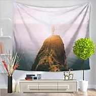 billige Veggdekor-Landskap Veggdekor Polyester/ Polyamid Mønstret Veggkunst, Veggtepper Dekorasjon