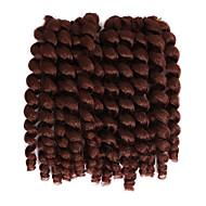 צמות סרוגות טרום לולאה הוואנה סריגה מסולסל קופצני סלסול ג 'מייקנית להקפיץ שיער סיןחום-זהב שחור / תות בלונדינית שחור / בינוני אובורן שחור