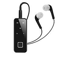 Cwxuan® universal separável colar clip-on-in-ear estéreo bluetooth v4.1 fone de ouvido / microfone