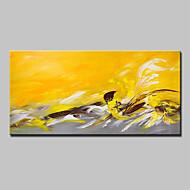 billiga Oljemålningar-Hang målad oljemålning HANDMÅLAD - Abstrakt Moderna / Europeisk Stil Duk