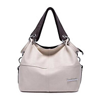 Women Bags All Seasons PU Shoulder Bag for White Black Brown
