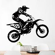 Zvířata Prázdninový Volný čas Samolepky na zeď Samolepky na stěnu Ozdobné samolepky na zeď 3D,Papír Materiál Home dekoraceLepicí obraz na
