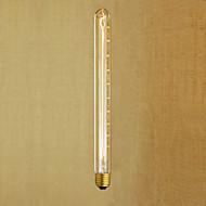 Ac220 -240 t26-300 e27 40w edison retro fløyte testrør retro dekorative pære v1pcs