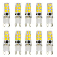 3W G9 LED Bi-pin Lights T 16 SMD 5730 260 lm Warm White Cold White K V