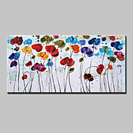 Hand Painted Flowers Oil Painting On Canvas Modern Abstract Wall Art Picture For Home Decoration Ready To Hang