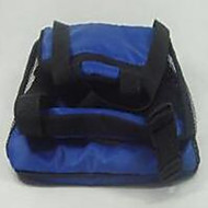 Cat Dog Car Seat Cover Pet Carrier Adjustable/Retractable Portable Double-Sided Breathable Foldable Solid Black Blue
