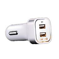 高速充電器 その他 USBポート×2 チャージャーのみ(ケーブル別売り) DC 5V/3A 2.1A