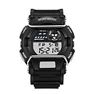 billige Militærur-Herre Digital Armbåndsur Smartur Militærur Sportsur Kalender LED Selvlysende i mørke Stopur Træningsmålere Silikone Bånd Afslappet Mode