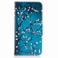 billiga Mobil cases & Skärmskydd-fodral Till Huawei Honor V8 Huawei Honor 5C Huawei Korthållare Plånbok med stativ Lucka Mönster Fodral Hårt för P10 Plus P10 Lite P10 P8