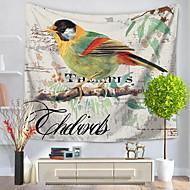 tanie Dekoracje ścienne-Animals Abstrakt Dekoracja ścienna 100% Polyester Artystyczny Wzór Wall Art, Ścienne Gobeliny Dekoracja