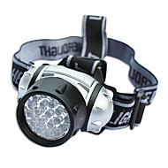 Lanternas de Cabeça LED 600 Lumens 4.0 Modo LED Baterias não incluídas Emergência Super Leve para Campismo / Escursão / Espeleologismo