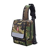 sırt çantası Kaykay Taşıma Çantası için Kaykay Kaykaycılık santimetre Dış Mekan Moda Erkek Uniseks Naylon kamuflaj Yeşil çamur Renk