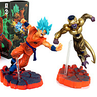 Anime Action Figures Inspired by Dragon Ball Son Goku PVC(PolyVinyl Chloride) 12 cm CM Model Toys Doll Toy