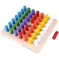 Bausteine Bildungsspielsachen Spielzeuge Quadratisch Kind Stücke