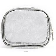 Damen Taschen Ganzjährig PVC Kosmetik Tasche für Normal Blau Orange Grau