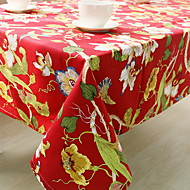 cheap Table Linens-Cotton Blend Table cloths Printing Fashion Table Decorations