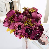 1 Ramo Toque real Outras Peônias Flor de Mesa Flores artificiais