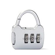 0000 Cadeado de cadeado de liga de zinco Senha de 3 dígitos anti-roubo mini bagagem bagagem papelaria bloqueio bloqueio de alfândega