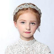 Girl's Headband Cute Lace And Rhinestone Baby Hair Accessory