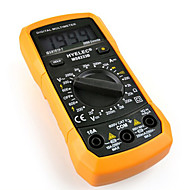 hyelec ms8233b multifunktions mini digital multimeter / baggrundslys