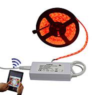 זול רצועות נורות LED-סרטי תאורה RGB 300 נוריות שלט רחוק ניתן לחיתוך Spottivalo עמיד במים 100-240V
