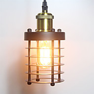 Anheng belysning industriell jern anheng lampe retro hengende lys kunst dekorasjon kafé bar stue