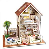 おもちゃ 手作り DIY 家 ヴィラ プラスチック 小品 指定されていません 誕生日 こどもの日 ギフト
