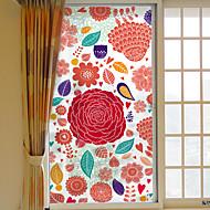 cheap Window Film & Stickers-Window Film Window Decals Style Flowers Grind Arenaceous PVC Window Film- (60 x 116)cm