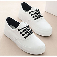 Women's Shoes Breathable Mesh PU Spring Summer Comfort Sneakers For Casual White Black Light Blue
