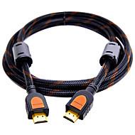HDMI 2.0 Kabel, HDMI 2.0 to HDMI 2.0 Kabel Han - Han Forgyldt kobber 3.0M (10ft)