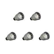 billige -7W GU10 LED-spotpærer 1 leds COB Mulighet for demping Varm hvit Kjølig hvit 780lm 3000