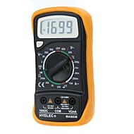 cheap Electrical Instruments-HYELEC MAS838  Professional Digital LCD Display Multifunction Mini Multimeter/Temperature Test Multimetro LCR Meter