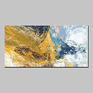 Pintados à mão Abstrato Horizontal,Abstracto Modern 1 Painel Tela Pintura a Óleo For Decoração para casa