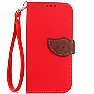 billiga Mobil cases & Skärmskydd-fodral Till Xiaomi Korthållare Plånbok med stativ Lucka Fodral Ensfärgat Hårt PU läder för Xiaomi Mi Max 2 Xiaomi Mi 6 Xiaomi Mi 5 Xiaomi