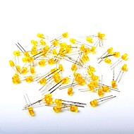 Led fénykibocsátó dióda 3 mm sárga fény (1000 db)