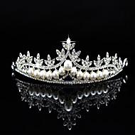 Imitacija bisera Umjetno drago kamenje Legura tijare 1 Vjenčanje Special Occasion Zabava / večer Glava