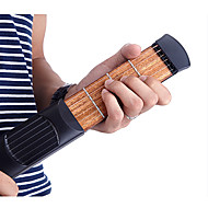 cheap Musical Instruments-Professional Pocket Guitar Trainer Ammoon Guitar Acoustic Guitar Material ABS Portable Practice tool 6 String 4 Fret for Beginner Fun