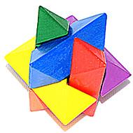 Lindert Stress Bausteine Knifflige Puzzle Spielzeuge Neuheit Achteck Stress und Angst Relief Unisex Stücke