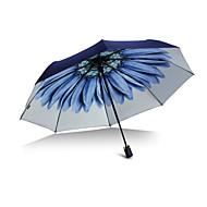 billige Bestselgere-Plast Herre / Dame / Jente Sol & Regn Sammenfoldet paraply