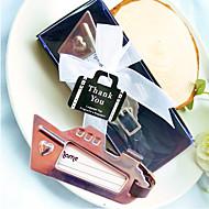 クロムボン航海銀仕上げヨットの荷物タグベターギフト®結婚式の好意12.5 * 5.2 * 2センチメートル/ボックス